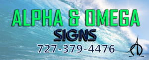 Alpha and Omega Signs